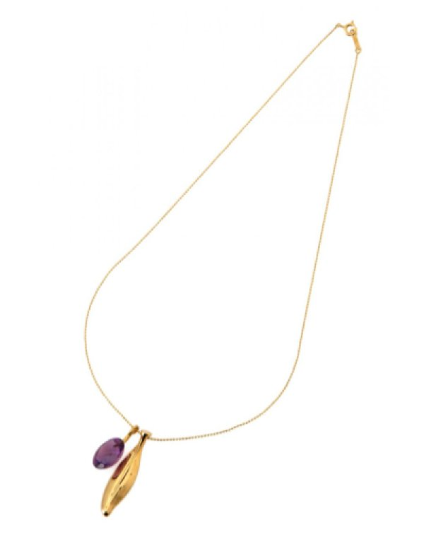 画像2: [GOLD] Olive Necklace
