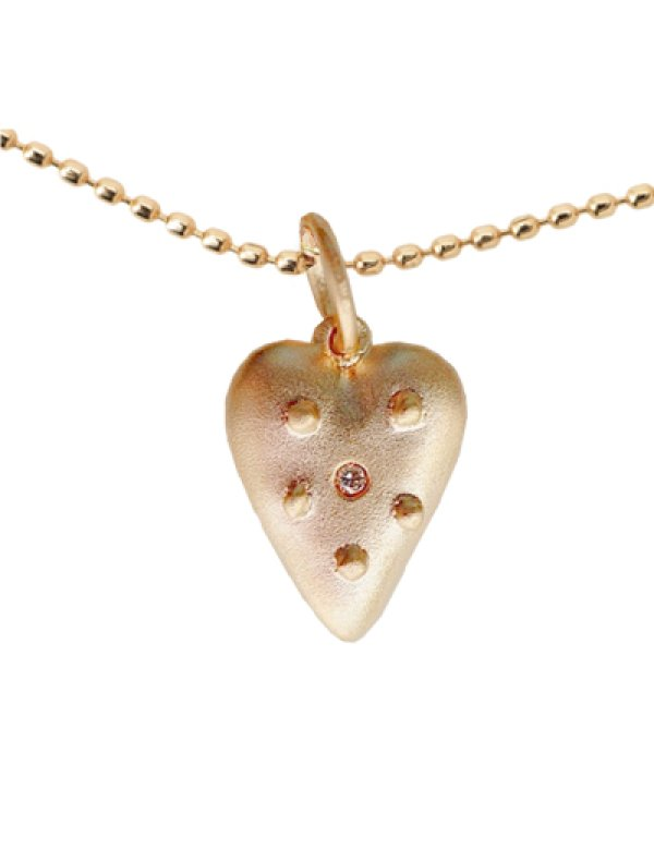 画像1: [GOLD] Heart Necklace