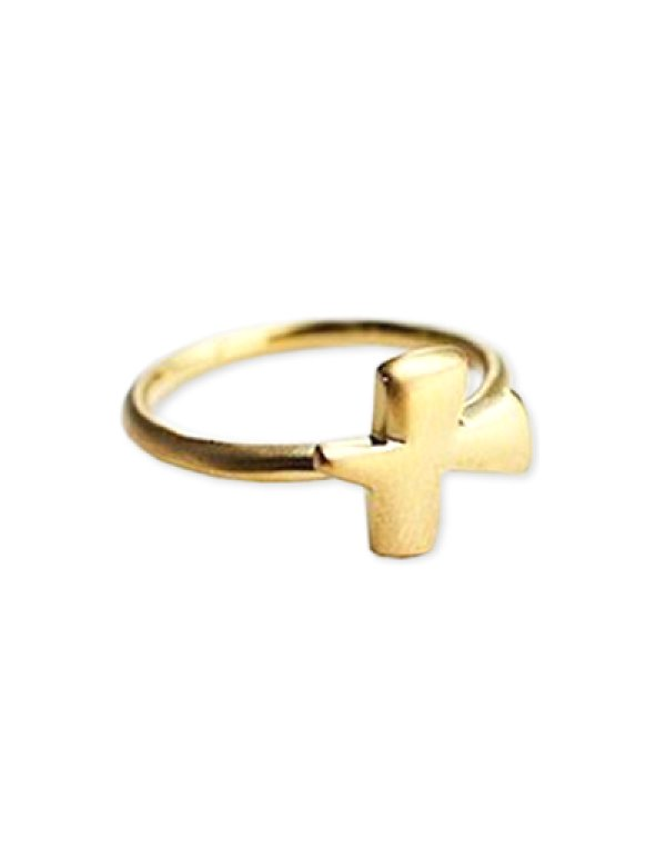 画像1: [GOLD] Bird Ring