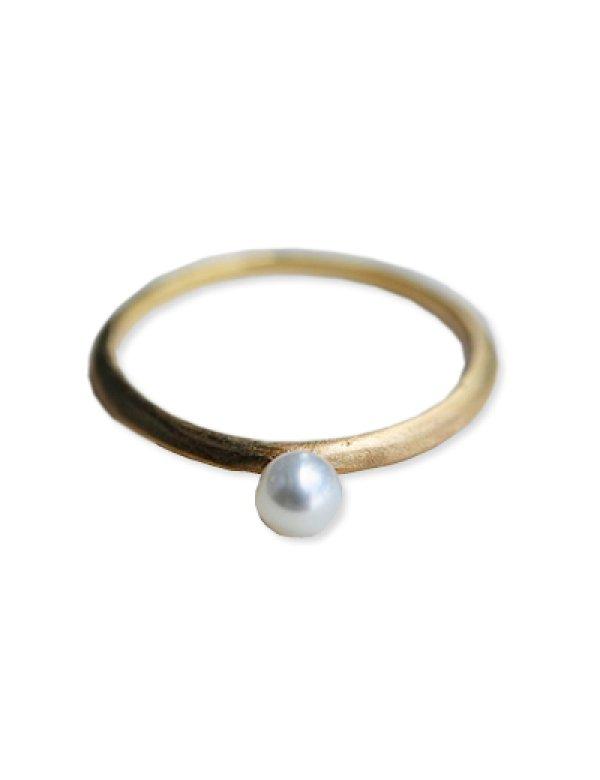 画像2: [GOLD] Pearl Ring
