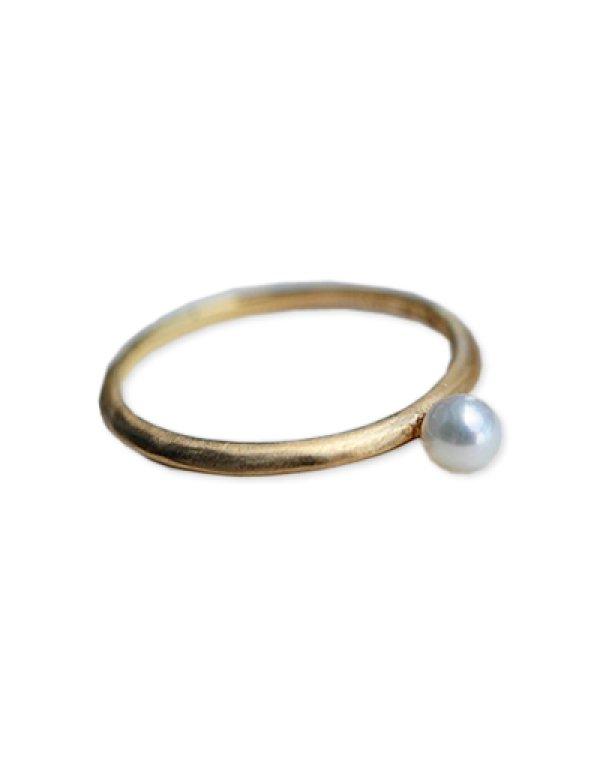画像3: [GOLD] Pearl Ring