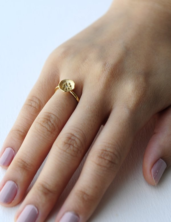 画像5: [GOLD] Flower Ring