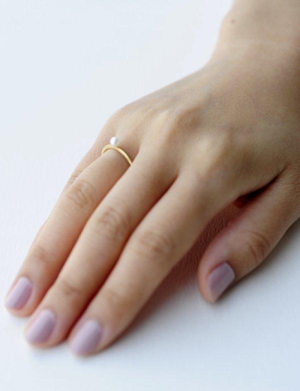 画像4: [GOLD] Pearl Ring